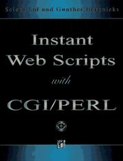 Cover of: Instant Web scripts with CGI Perl