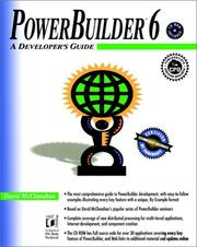 Cover of: PowerBuilder® 6