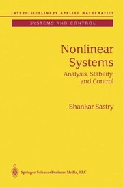 Cover of: Nonlinear Systems