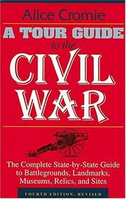 Cover of: A tour guide to the Civil War | Alice Cromie