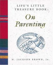 Cover of: Life's Little Treasure Book on Parenting