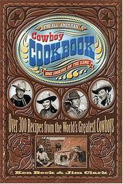 Cover of: The All-American Cowboy Cookbook | Ken Beck