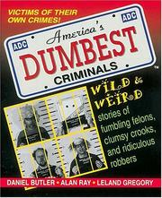 Cover of: America's dumbest criminals