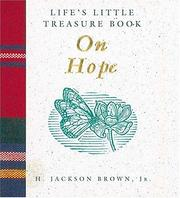 Cover of: Life's Little Treasure Book on Hope