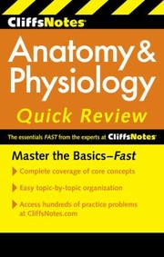Cover of: Cliffsnotes Anatomy  Physiology Quick Review