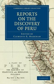 Cover of: Reports on the Discovery of Peru