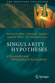 Cover of: Singularity Hypotheses
