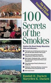100 secrets of the Smokies by Randall H. Duckett