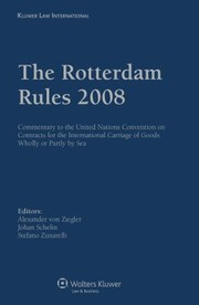 Cover of: The Rotterdam Rules 2008