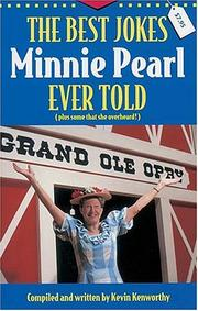 Cover of: The Best Jokes Minnie Pearl Ever Told | Kevin Kenworthy