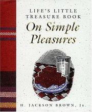 Cover of: Life's little treasure book on simple pleasures