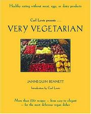Cover of: Very Vegetarian