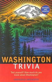 Cover of: Washington Trivia
