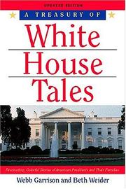 Cover of: A treasury of White House tales