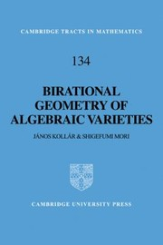 Cover of: Birational Geometry of Algebraic Varieties