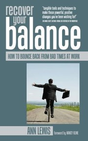 Cover of: Recover Your Balance