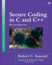 Cover of: Secure Coding in C and C