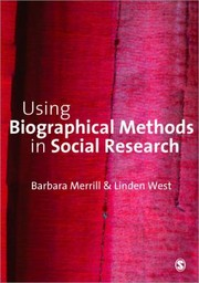 Cover of: Using Biographical Methods in Social Research