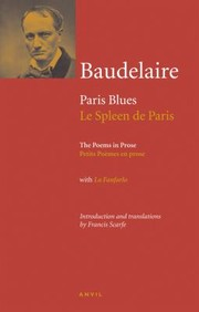 Cover of: Charles Baudelaire Paris Blues Poems in Prose Le Spleen de Paris