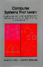 Cover of: Computer systems that learn