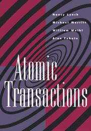 Cover of: Atomic transactions |