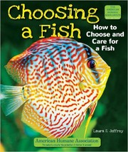 Cover of: Choosing a fish