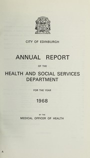 Cover of: [Report 1968]