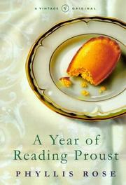Cover of: Year of Reading Proust a Memoir In Real
