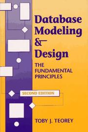 Database modeling & design by Toby J. Teorey