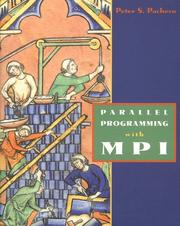 Cover of: Parallel programming with MPI