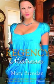 Cover of: Regency Mistresses