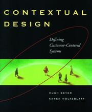 Cover of: Contextual design | Hugh Beyer