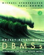 Cover of: Object Relational Dbms | Michael Stonebraker