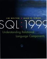 Cover of: SQL:1999 |