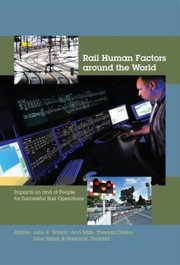 Cover of: Rail Human Factors Around the World