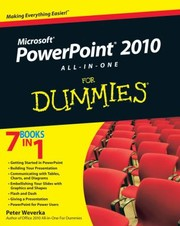 Cover of: Powerpoint 2010 Allinone For Dummies