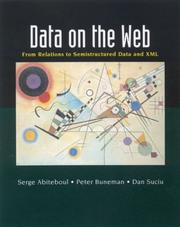 Cover of: Data on the web