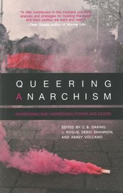Cover of: Queering anarchism |
