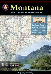 Cover of: Montana Road Recreation Atlas