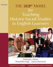 Cover of: The Siop Model For Teaching Historysocial Studies To English Learners