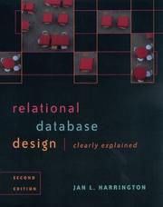 Cover of: Relational Database Design Clearly Explained, Second Edition (The Morgan Kaufmann Series in Data Management Systems)