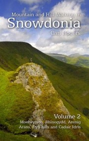 Cover of: Mountain And Hill Walking In Snowdonia