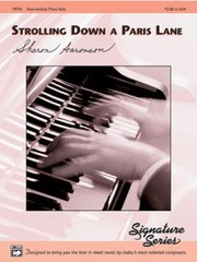 Cover of: Strolling Down A Paris Lane Intermediate Piano Solo