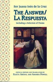 Cover of: The Answer / La Respuesta, Including a Selection of Poems (A Feminist Press Sourcebook)