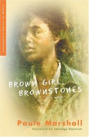 Cover of: Brown girl, brownstones