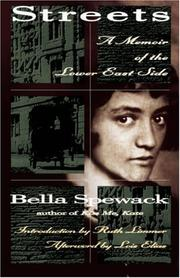 Cover of: STREETS (Helen Rose Scheuer Jewish Women's)