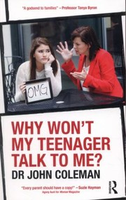 Cover of: Why Wont My Teenager Talk To Me