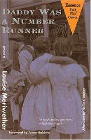 Cover of: Daddy Was a Number Runner (Contemporary Classics By Women)