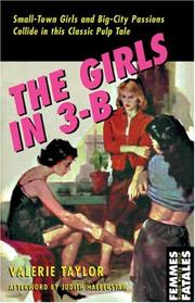 Cover of: The girls in 3-B | Valerie Taylor