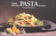 Cover of: Quick & easy pasta recipes